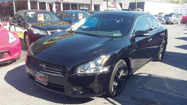 2010 NISSAN MAXIMA 35 SV PREMIUM HEATED COOLED LEATHER SEATS PANORAMIC ROOF