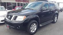 2010_NISSAN_PATHFINDER_SE 4X4, CARFAX CERTIFIED, 3RD ROW, SATELLITE, PREMIUM SOUND, TOW PKG, AUX PORT, ONLY 75K MILES!_ Norfolk VA