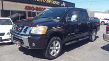 2010_NISSAN_TITAN_LE CREWCAB 4X4, AUTOCHECK CERTIFIED, SAT, HEATED LEATHER SEATS, PARKING SENSORS, ONLY 77K MILES!_ Norfolk VA