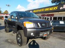 2010_NISSAN_TITAN_OFF ROAD PRO 4X 4X4, BUYBACK GUARANTEE, WARRANTY, TOW PKG, BLUETOOTH, VERY CLEAN, GORGEOUS!_ Norfolk VA