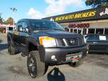 2010 NISSAN TITAN OFF ROAD PRO 4X 4X4, CERTIFIED W/WARRANTY, RUNNING BOARDS, TOW PKG, BLUETOOTH, VERY CLEAN, GORGEOUS!