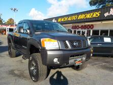 NISSAN TITAN OFF ROAD PRO 4X 4X4, CERTIFIED W/WARRANTY, RUNNING BOARDS, TOW PKG, BLUETOOTH, VERY CLEAN, GORGEOUS! 2010