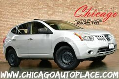 2010_Nissan_Rogue_S AWD - 2.5L 4-CYL ENGINE ALL WHEEL DRIVE CLEAN LOCAL TRADE SUNROOF BLACK CLOTH INTERIOR BLUETOOTH_ Bensenville IL