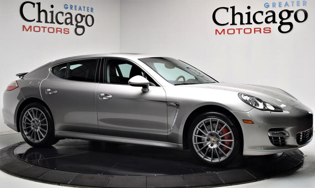 2010_Porsche_Panamera Turbo $162,830 Loaded_Carfax Certified~Rear Seat Package_ Chicago IL