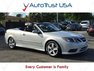 Saab 9-3 Convertible Clean Carfax Leather Low Miles Bluetooth 2010