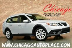 2010_Saab_9-3 wagon_9-3X - 1 OWNER 2.0L 4-CYL TURBOCHARGED ENGINE BLACK LEATHER HEATED SEATS SUNROOF DUAL ZONE CLIMATE_ Bensenville IL