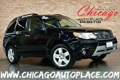 2010_Subaru_Forester_2.5X Limited - 2.5L 4-CYL BOXER ENGINE 1 OWNER ALL WHEEL DRIVE NAVIGATION PANO ROOF BLACK LEATHER HEATED SEATS_ Bensenville IL