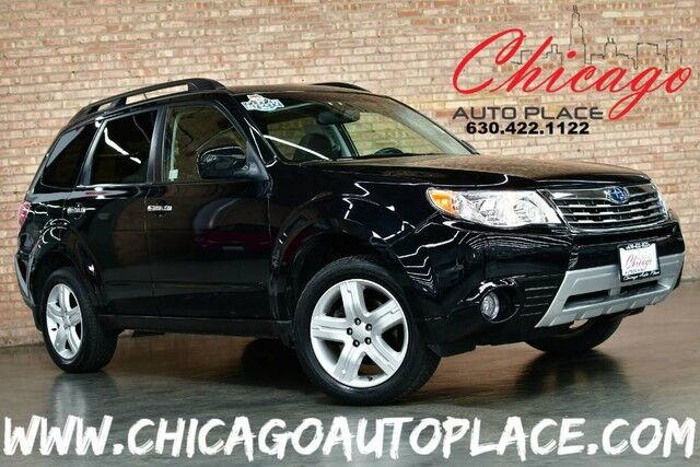 2010 Subaru Forester 2.5X Limited - 2.5L 4-CYL BOXER ENGINE 1 OWNER ALL WHEEL DRIVE NAVIGATION PANO ROOF BLACK LEATHER HEATED SEATS Bensenville IL