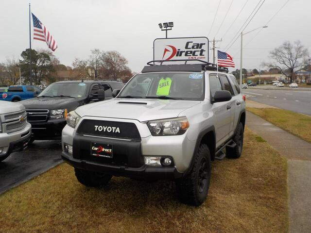 2010 TOYOTA 4RUNNER TRAIL 4X4, BUY BACK GUARANTEE AND WARRANTY, CD PLAYER, TOW PKG, LIFTED, AWESOME!!!! Virginia Beach VA