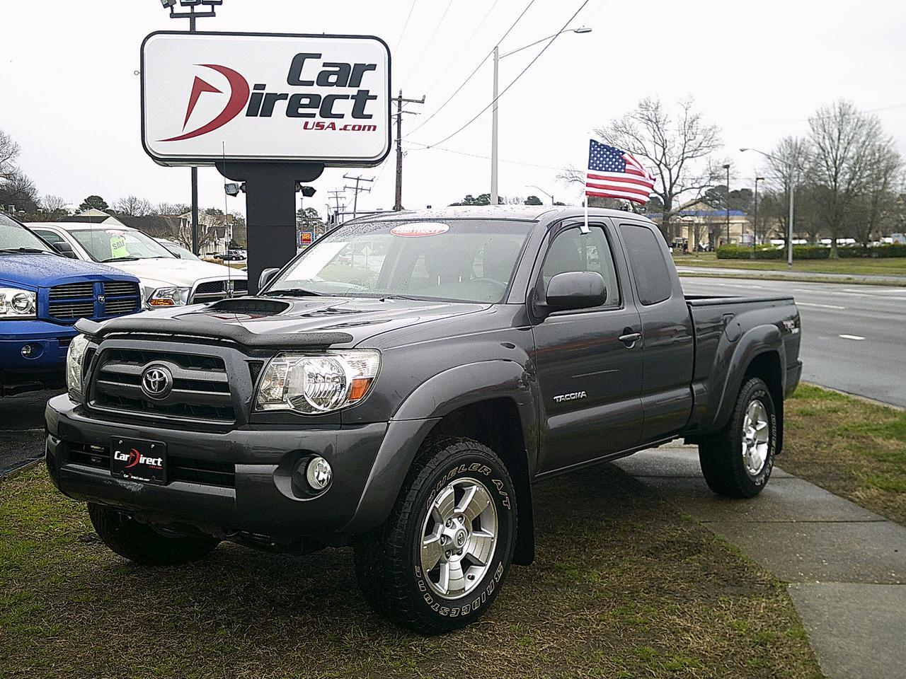 2010 toyota tacoma sr5 trd sport 4x4 autocheck certified back up camera tow package bed. Black Bedroom Furniture Sets. Home Design Ideas