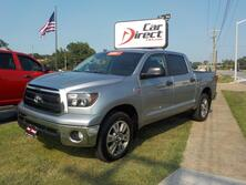TOYOTA TUNDRA SR5 CREWMAX 5.7L 4X4, ONE OWNER, AUTOCHECK CERTIFIED, BLUETOOTH, TOW PACKAGE, BED LINER! 2010