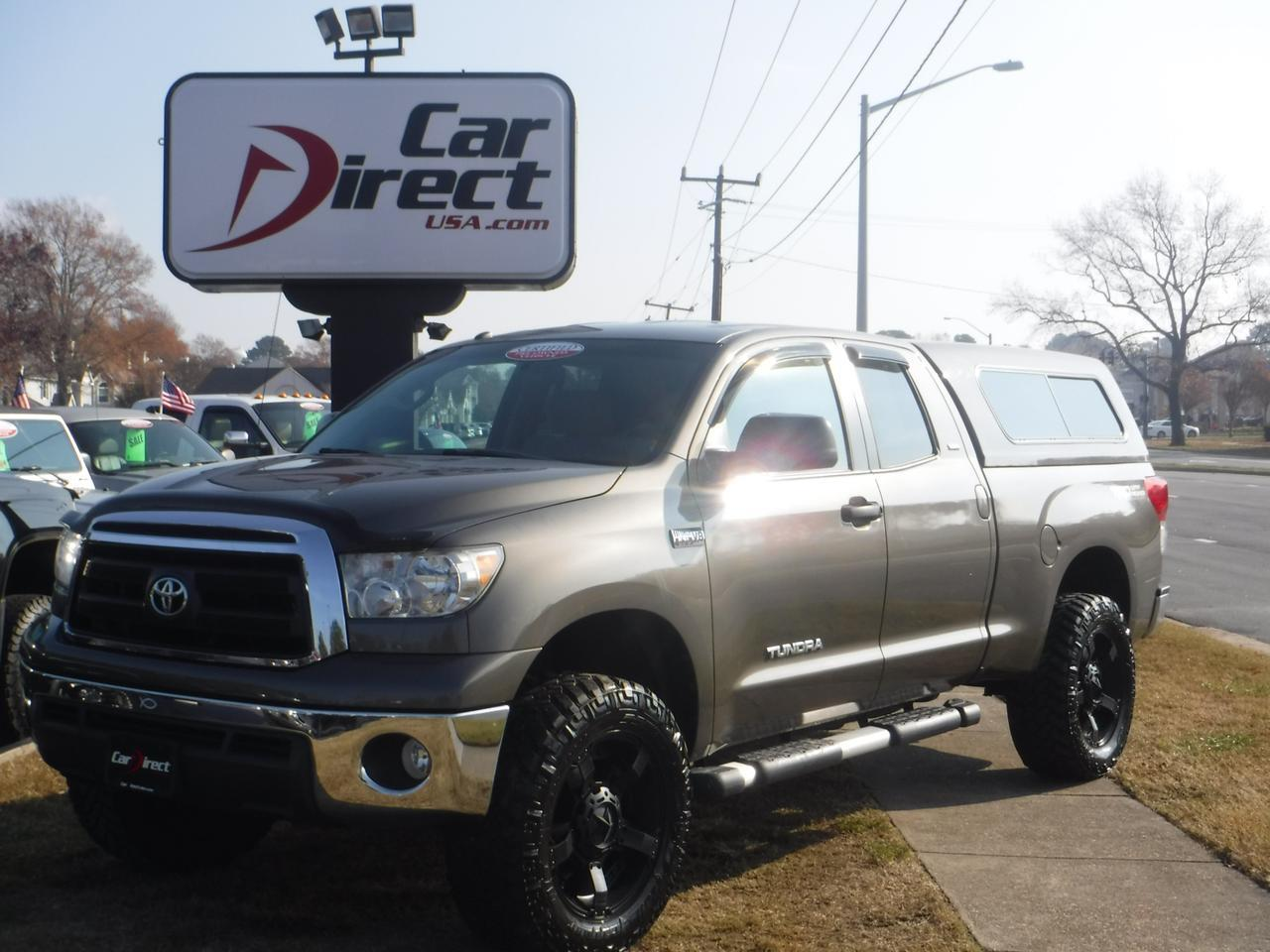2010 TOYOTA TUNDRA SR5 DOUBLE CAB TRD OFF-ROAD 4X4 LIFTED ...