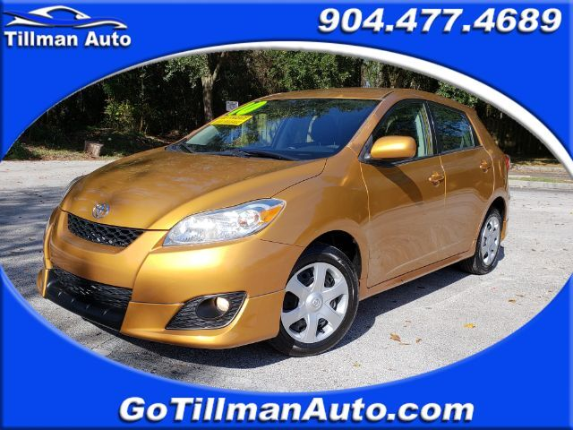 2010 Toyota Matrix Base 4-Speed AT Jacksonville FL