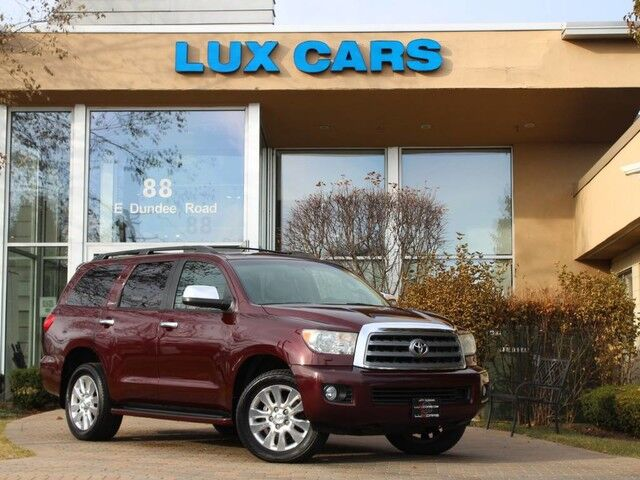 2010_Toyota_Sequoia_Platinum Edition Nav Rear DVD 4WD_ Buffalo Grove IL