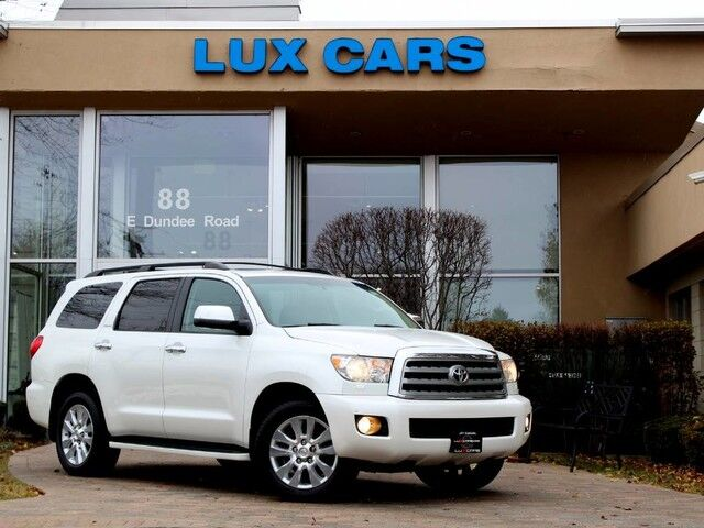2010_Toyota_Sequoia_Platinum Nav Rear DVD 4WD_ Buffalo Grove IL