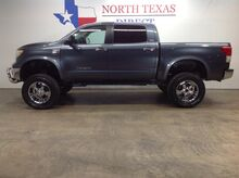 2010_Toyota_Tundra 2WD Truck_SR5 V8 Lifted Crew Cab Leather Bedliner Chrome Wheels_ Mansfield TX
