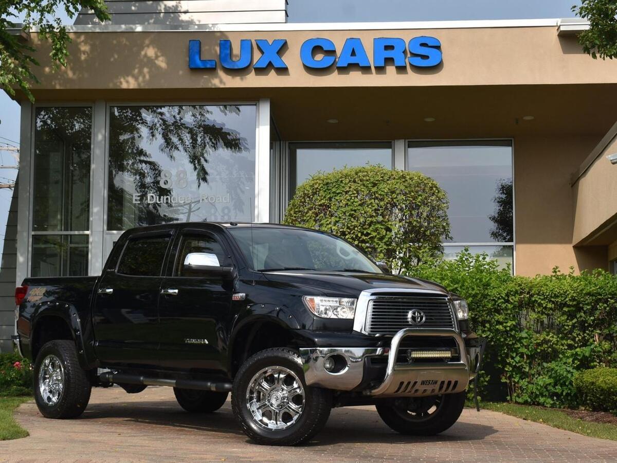 2010_Toyota_Tundra 4WD Truck_Platinum Nav Lifted 4WD_ Buffalo Grove IL
