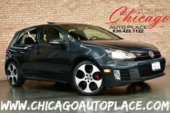 2010_Volkswagen_GTI_2.0L TURBOCHARGED I4 ENGINE AUTOBAHN PACKAGE FRONT WHEEL DRIVE BLACK LEATHER HEATED SEATS SUNROOF XENONS_ Bensenville IL