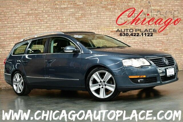 2010 Volkswagen Passat Wagon Komfort - 2.0L TURBOCHARGED I4 ENGINE 1 OWNER FRONT WHEEL DRIVE BLACK LEATHER HEATED SEATS SUNROOF POWER LIFTGATE Bensenville IL