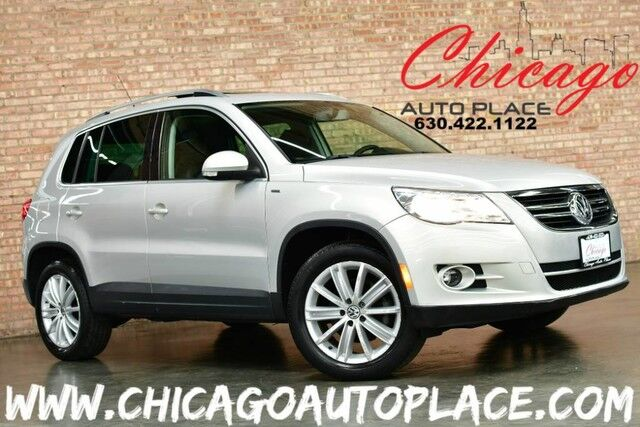 2010 Volkswagen Tiguan Wolfsburg - 2.0L TURBOCHARGED I4 ENGINE BLACK LEATHER HEATED SEATS PANO ROOF POWER LIFTGATE FRONT WHEEL DRIVE XENONS Bensenville IL