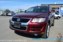 2010_Volkswagen_Touareg_TDI / AWD / 3.0L V6 Diesel / Power & Heated Leather Seats / Navigation / Sunroof / Dynaudio Speakers / Back Up Camera / Luggage Rack / Brand New Tires / Only 49k Miles / 1-Owner_ Anchorage AK