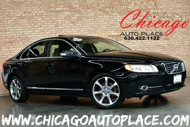 2010 Volvo S80 I6 - 1 OWNER 3.2L VCT I6 ENGINE FRONT WHEEL DRIVE BLACK LEATHER HEATED SEATS BLINDSPOT DETECTION SUNROOF HEATED SEATS PUSH BUTTON START Bensenville IL
