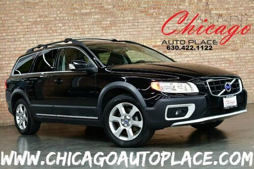 2010 Volvo XC70 3.2 AWD - 3.2L I6 ENGINE ALL WHEEL DRIVE KEYLESS GO BLACK LEATHER HEATED SEATS SUNROOF POWER LIFTGATE WOOD GRAIN INTERIOR TRIM Bensenville IL