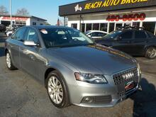 2011_AUDI_A4_QUATTRO PREMIUM 2.0T, BUYBACK GUARANTEE, WARRANTY, LEATHER, SUNROOF, PARKING SENSORS, LOW MILES!!!!!_ Norfolk VA