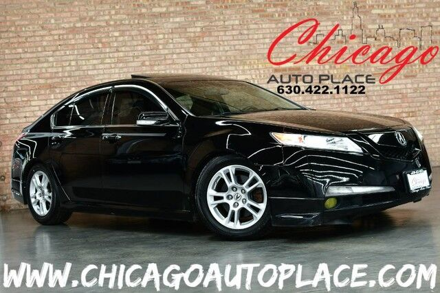 2011 Acura TL Tech - 3.5L VTEC V6 ENGINE FRONT WHEEL DRIVE NAVIGATION BACKUP CAMERA BLACK LEATHER HEATED SEATS SUNROOF XENONS KEYLESS GO BLUETOOTH Bensenville IL