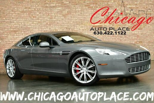 2011 Aston Martin Rapide 5.9L V12 ENGINE REAR WHEEL DRIVE PADDLE SHIFTERS NAVIGATION BLACK LEATHER HEATED/COOLED SEATS PARKING SENSORS REAR TVS XENONS Bensenville IL