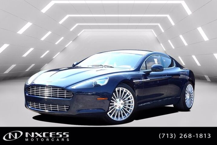 2011 Aston Martin Rapide Luxury Only 17k Miles Front and Rear Cool Seats Entertainment System Houston TX
