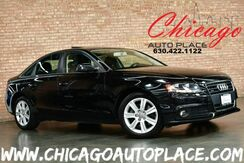 2011_Audi_A4_2.0T Premium - QUATTRO ALL WHEEL DRIVE TURBOCHARGED BLACK LEATHER CLIMATE CONTROL SUNROOF BLUETOOTH_ Bensenville IL