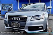 2011 Audi A4 2.0T Premium Plus / Quattro AWD / Turbocharged / Automatic / Power & Heated Leather Seats / Bang & Olufsen Speakers / Sunroof / Bluetooth / Cruise Control / Low Miles / 29 MPG