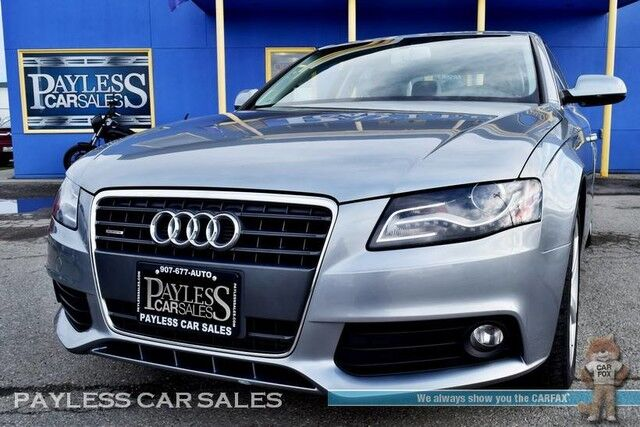 2011 Audi A4 2 0T Premium Plus / Quattro AWD / Turbocharged / Automatic /  Power & Heated Leather Seats / Bang & Olufsen Speakers / Sunroof /  Bluetooth