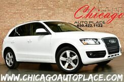 2011_Audi_Q5_2.0T Premium Plus - 2.0L I4 ENGINE QUATTRO ALL WHEEL DRIVE TAN LEATHER HEATED SEATS PANO ROOF POWER LIFTGATE XENONS_ Bensenville IL