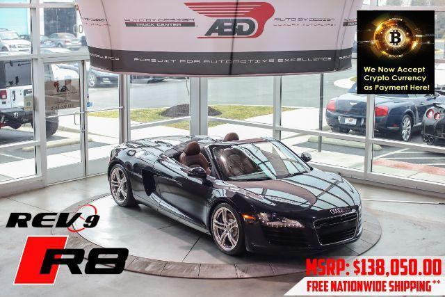 2011 Audi R8 4.2 Spyder quattro Auto R tronic Chantilly VA