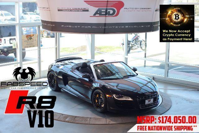 2011 Audi R8 5.2 Spyder quattro Auto R tronic Chantilly VA