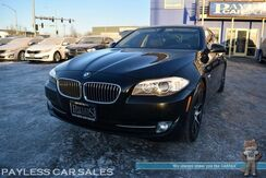 2011_BMW_535i xDrive_AWD / 3.0L I6 Twin Turbo / Front & Rear Heated Leather Seats / Heated Steering Wheel / Sunroof / Navigation / Bluetooth / Back Up Camera / Keyless Entry & Start / HID Headlights / Only 64K Miles / 1-Owner_ Anchorage AK