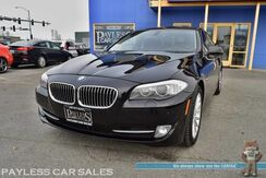 2011_BMW_535i_xDrive AWD / I6 Turbocharged / Front & Rear Heated Leather Seats / Heated Steering Wheel / Sunroof / Navigation / Bluetooth / Back Up Camera / HID Headlights / Keyless Start / USB & AUX Jacks / Low Miles_ Anchorage AK