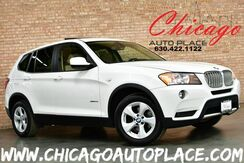 2011_BMW_X3_28i - 3.0L 240HP INLINE 6-CYL ENGINE ALL WHEEL DRIVE NAVIGATION BACKUP CAMERA PANO ROOF KEYLESS GO_ Bensenville IL