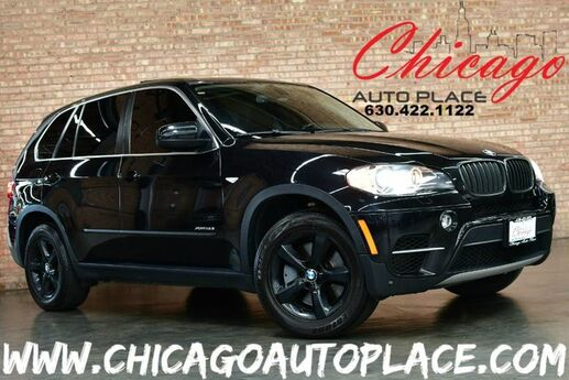 2011 BMW X5 50i - 4.4L 400HP V8 ENGINE NAVIGATION BACKUP CAMERA PANO ROOF BLACK LEATHER HEATED SEATS POWER LIFTGATE XENONS Bensenville IL