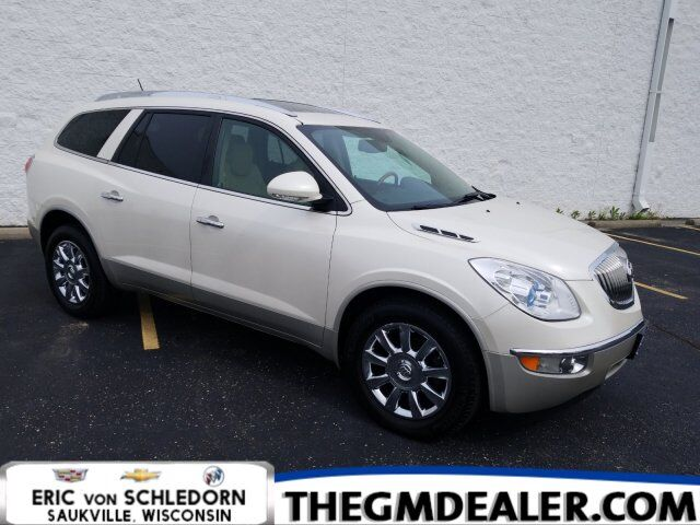2011 Buick Enclave CXL-1 AWD w/DualRoof 19sChromes HtdMemLthr ISRV-MirrorRearCamera Milwaukee WI