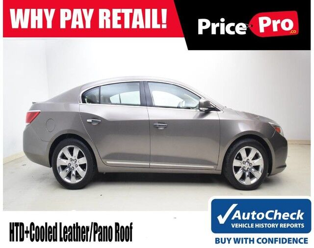 2011 Buick LaCrosse CXS V6 w/Pano Sunroof Maumee OH