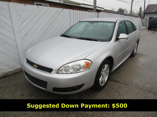 2011 CHEVROLET IMPALA LT  Bay City MI