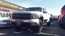2011_CHEVROLET_SILVERADO_1500 LTZ EXT CAB 4X4, CARFAX CERTIFIED, LIFTED, 20