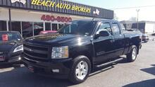 2011_CHEVROLET_SILVERADO_1500 LTZ Z71 EXT CAB 4X4, CARFAX CERTIFIED, SAT, NAV, REMOTE START, BACK UP CAM, BLACK ON BLACK!_ Norfolk VA