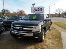2011_CHEVROLET_SILVERADO_LT 4X4, BUY GUARANTEE AND WARRANTY, CD PLAYER, ONSTAR, REMOTE START, BED LINER, ONLY 88K MILES!_ Virginia Beach VA