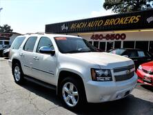 CHEVROLET TAHOE LTZ 4X4, ONE OWNER, CERTIFIED W/ WARRANTY, DVD, NAVIGATION, LEATHER, 3RD ROW SEATING! 2011