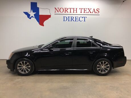 2011 Cadillac CTS Sedan Premium V6 Panoramic Roof Leather Easy Finance Mansfield TX