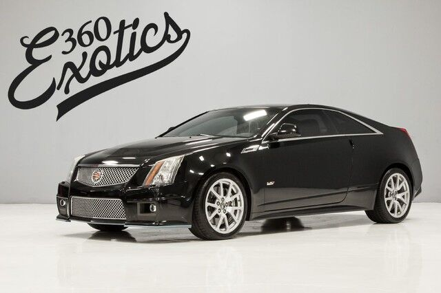 2011_Cadillac_CTS-V Coupe__ Austin TX